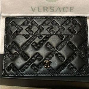 Versace card case